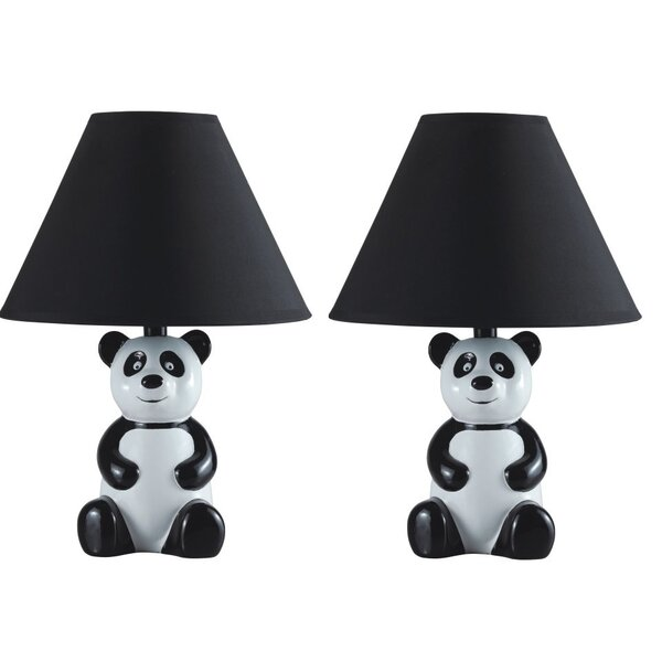 Concepcion Panda 14 Table Lamp (Set of 2) by Zoomie Kids