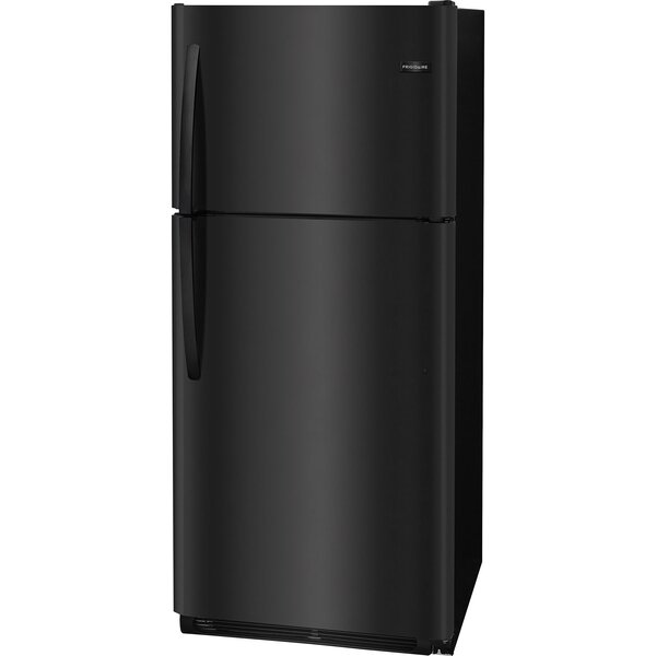 20.4-Cu. Ft. Top Freezer Refrigerator - Black by Frigidaire
