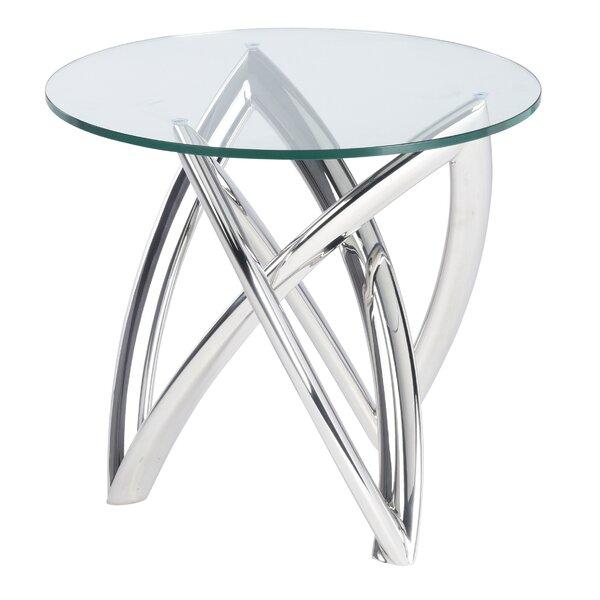 Jaryd End Table by Orren Ellis