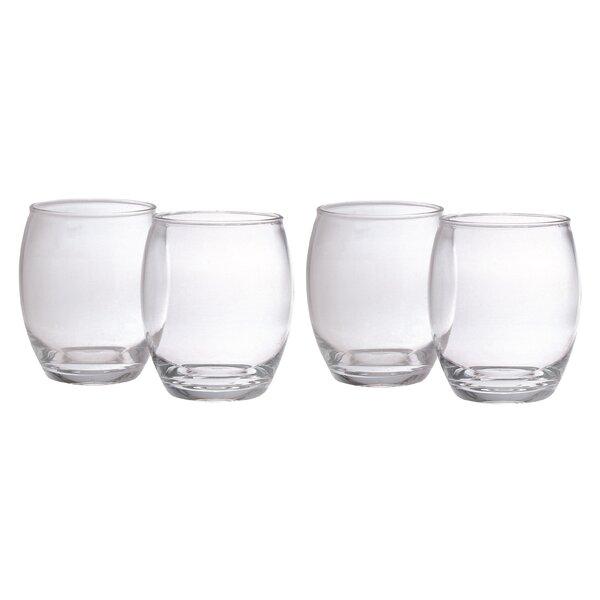 Napa 14 oz. Plastic Cocktail Glass (Set of 4) by Chenco Inc.