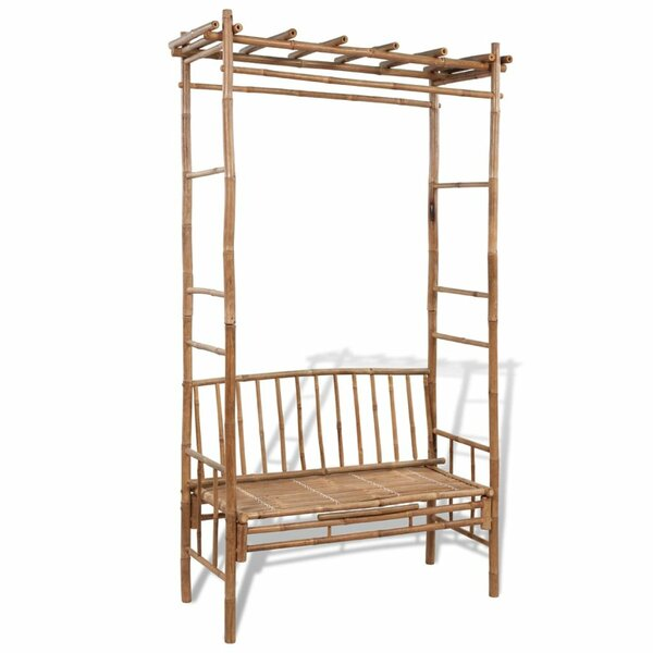 Wooden Arbour by East Urban Home