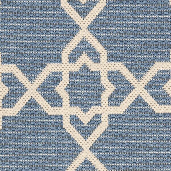 Ceri Blue/Beige Indoor/Outdoor Rug by Beachcrest Home