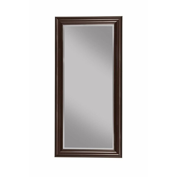 Mccalla Rectangular Polystyrene Frame Full Length Mirror by Winston Porter