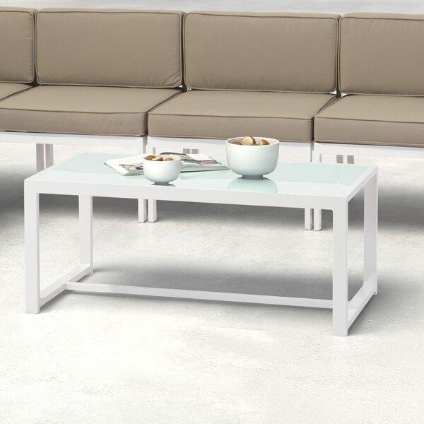 Hedy Glass Coffee Table by Orren Ellis