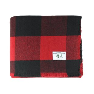 buffalo plaid blanket - Plaid Christmas Decor