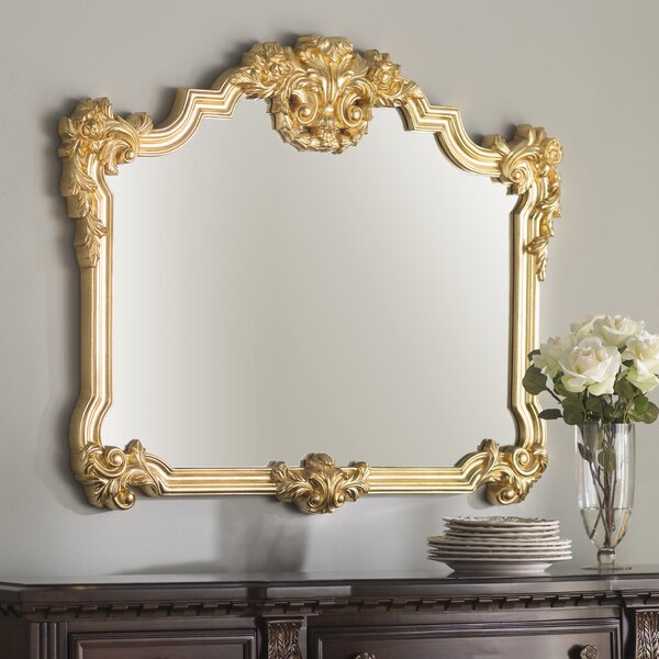Bright Accent Mirror by Astoria Grand