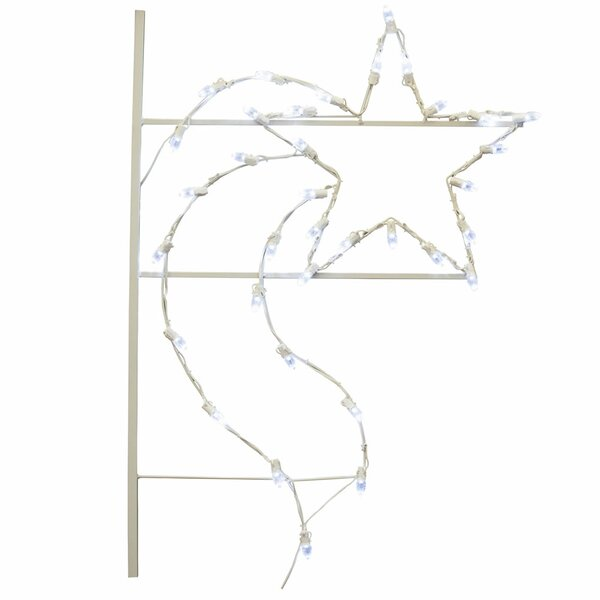 Star Commercial Pole Decoration 35 Light LED String Light by The Holiday Aisle