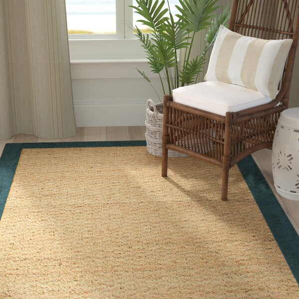 Pine Teal Area Rug by Bay Isle Home
