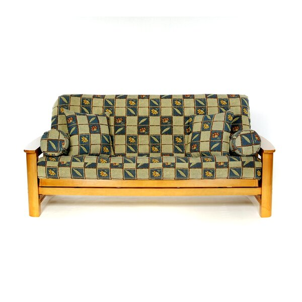 Seville Box Cushion Futon Slipcover by Lifestyle Covers
