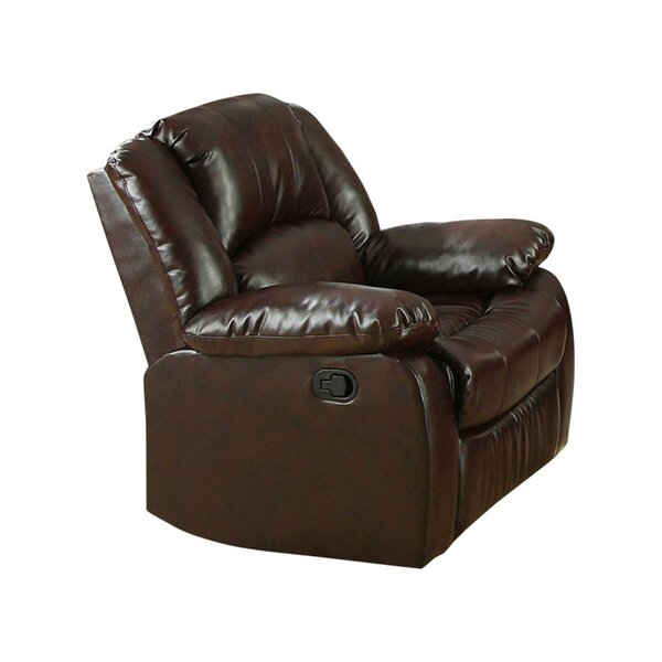 Marihan Bonded Leather Recliner [Red Barrel Studio]