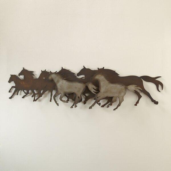 Galloping Herd Wall Decor by Birch Lane™