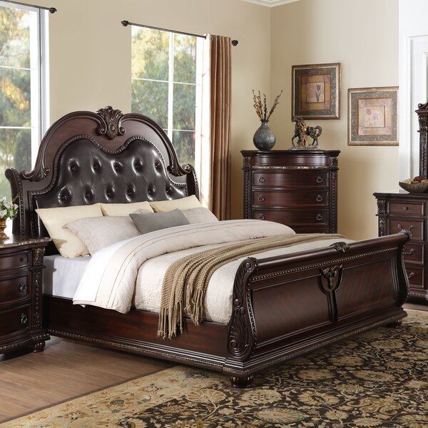 Caitlyn Upholstered Sleigh Bed By Astoria Grand