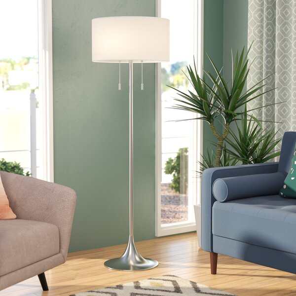 Morrisonville 61 Floor Lamp by Three Posts