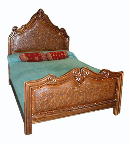 Upholstered Standard Bed by New World Trading