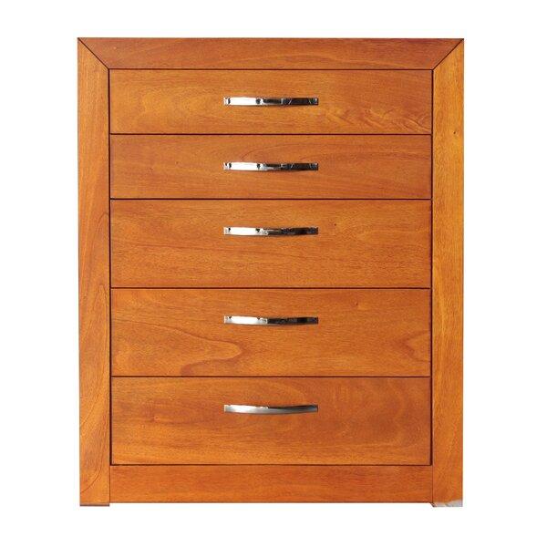Mandir 5 Drawer Dresser by REZ Furniture