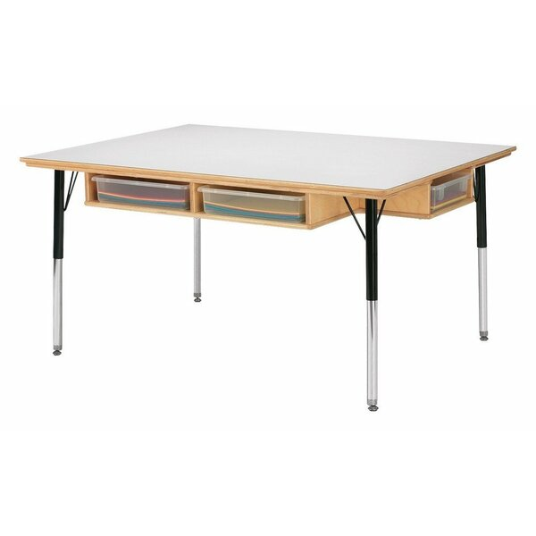 48 x 36 Rectangular Activity Table by Jonti-Craft