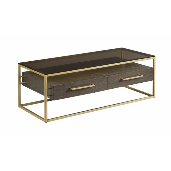 Ansel Coffee Table With Storage By Ivy Bronx