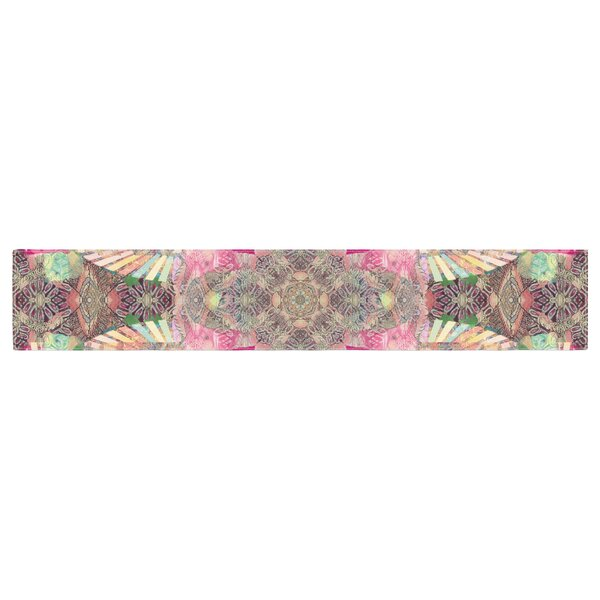 Danii Pollehn Indian Clash Table Runner by East Urban Home