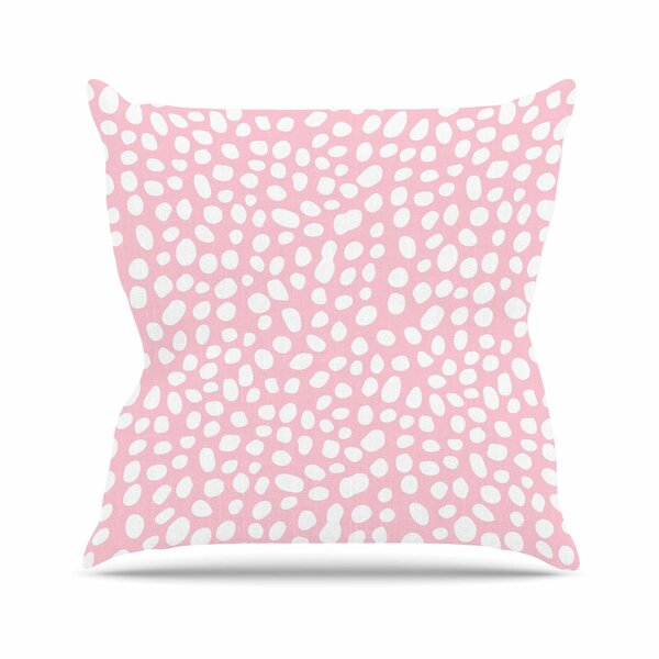 Wildlife Animal Print 4 Digital Outdoor Throw Pillow by East Urban Home