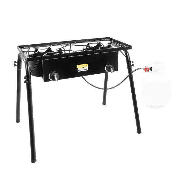 Two Burners Propane Outdoor Stove by Concord Cookware