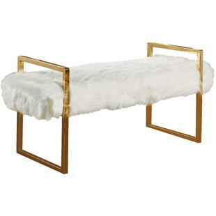 Fawn Upholstered Bench