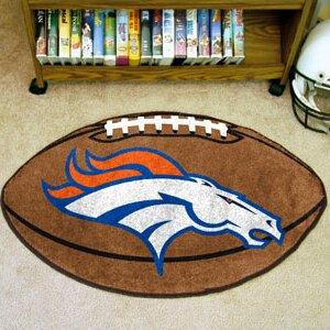 NFL - Denver Broncos Football Mat by FANMATS