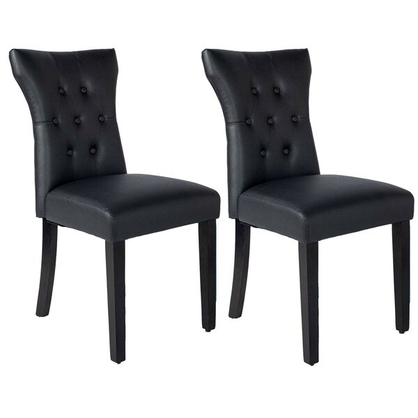 Blando Tufted Upholstered Parsons Chair (Set of 2) by Red Barrel Studio Red Barrel Studio®