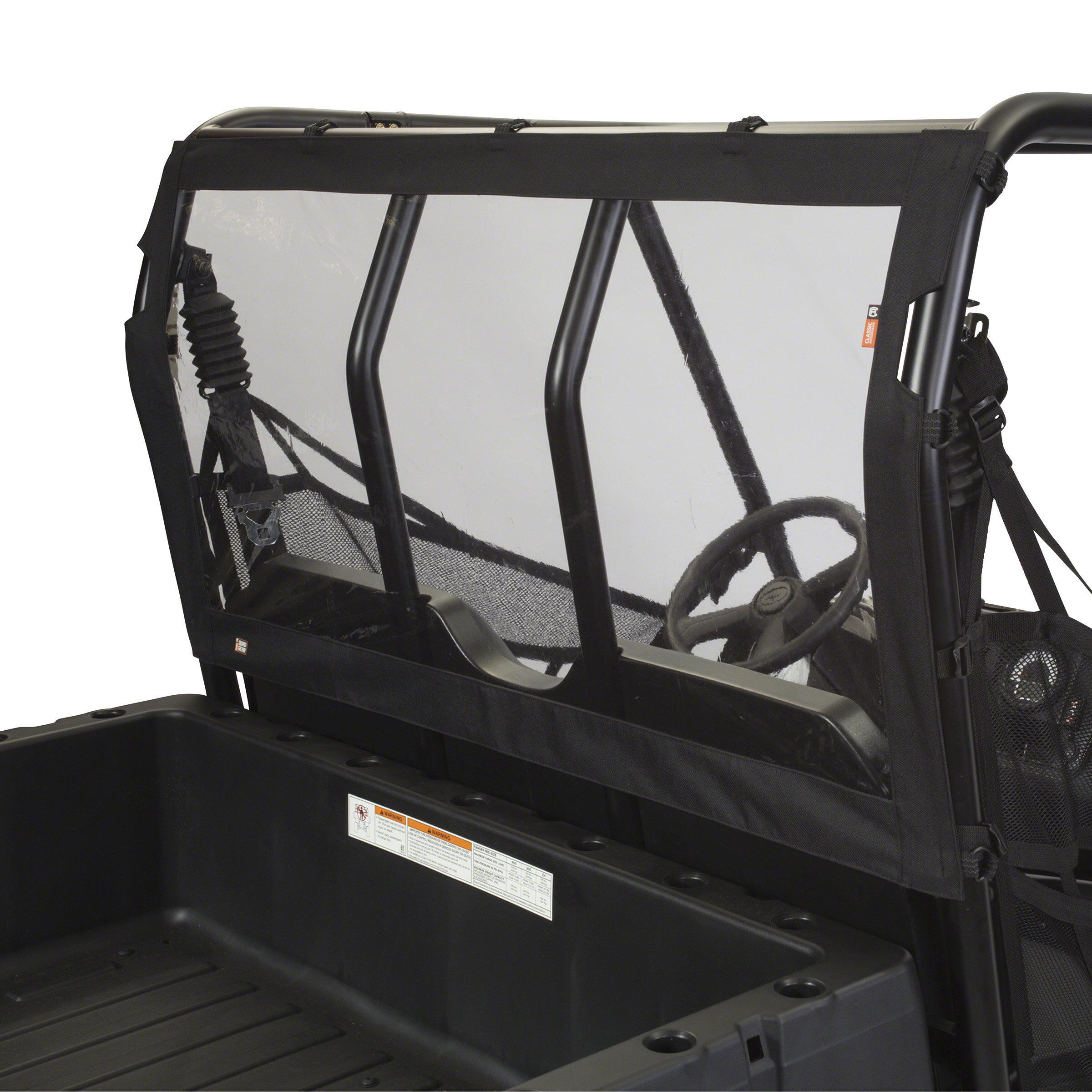 Classic Accessories UTV Rear Window Black for Polaris Ranger XP 2009