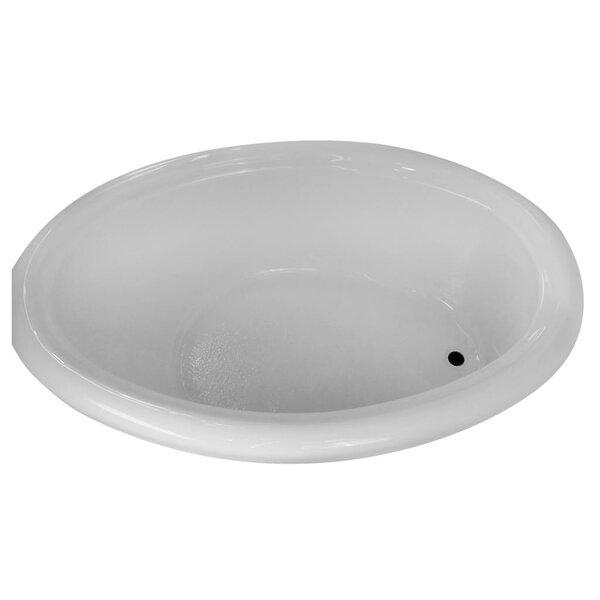 Hygienic Air Massage 72 x 48 Bathtub by Carver Tubs