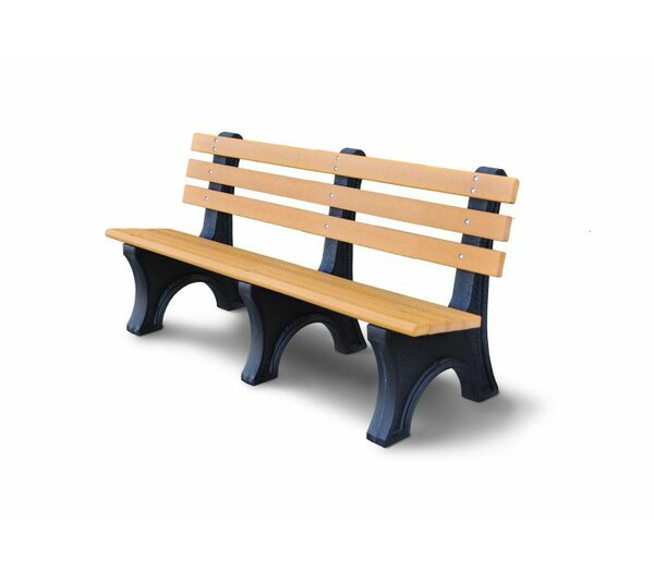 Carty Plastic Portable Bench by Freeport Park