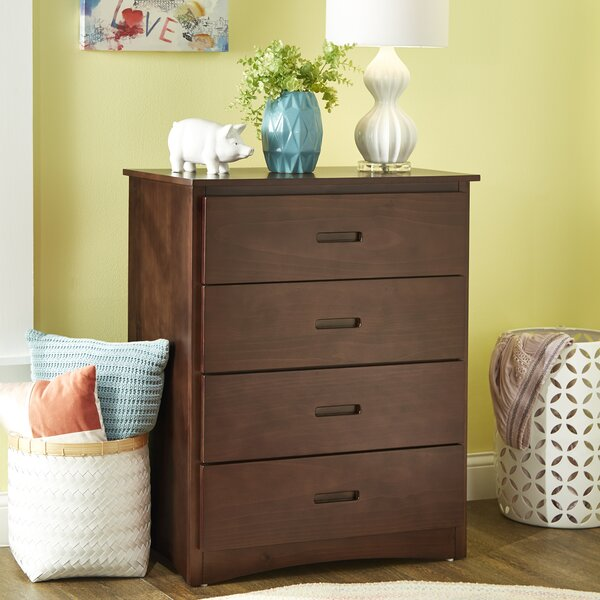 Hrima 4 Drawer Dresser by Wrought Studio