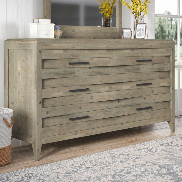 Descartes 6 Double Drawer Dresser by Laurel Foundry Modern Farmhouse