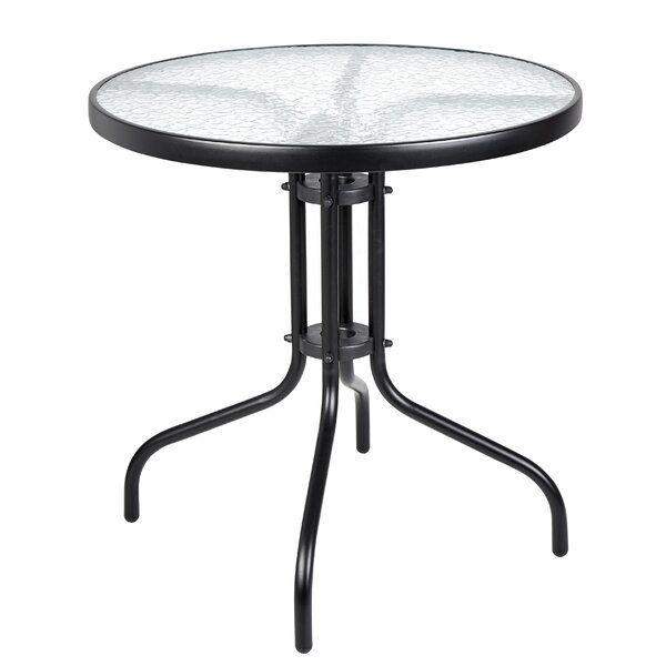 Bemadette Round Patio Bistro Table by Highland Dunes