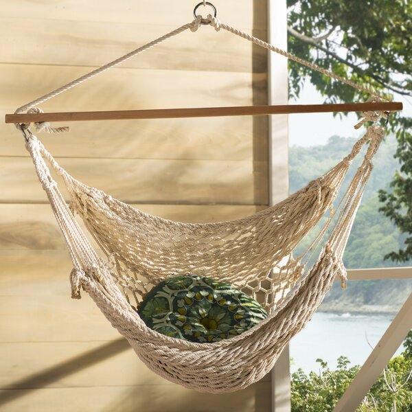 Hawkins Cotton Rope Chair Hammock by Mistana
