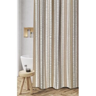 Buy luxury Polen Woven Jacquard 100% Cotton Shower Curtain By Loon Peak