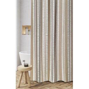 Coupon Polen Woven Jacquard 100% Cotton Shower Curtain ByLoon Peak