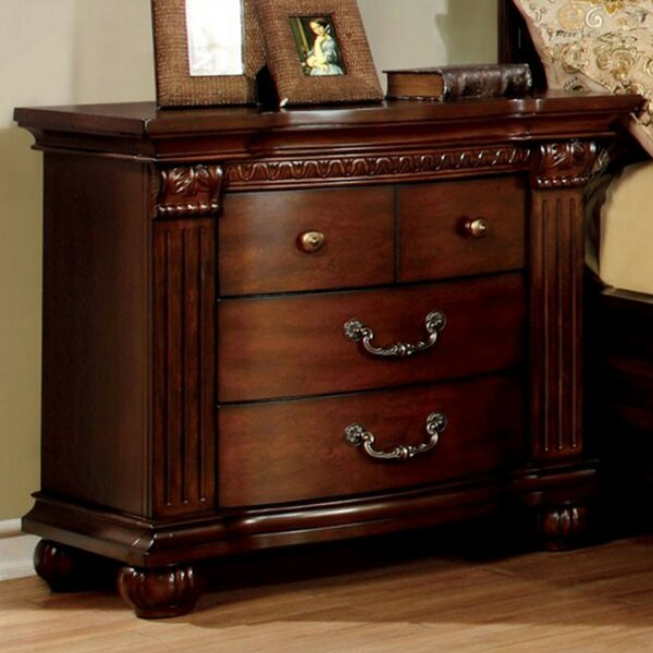Dorcas 4 Drawer Nightstand by Astoria Grand