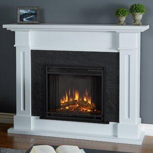 Dual Sided Electric Fireplace Wayfair