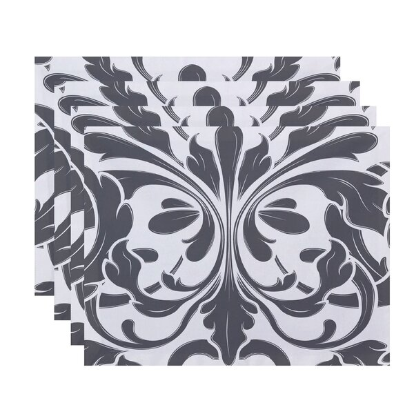 Selina British Placemat (Set of 4) by Red Barrel Studio