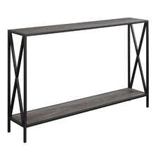 bleigh metal frame console table - Metal Console Table