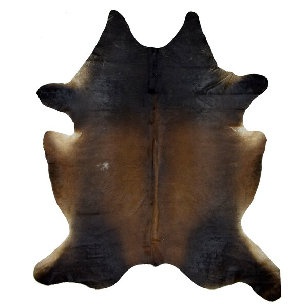 Joel Cowhide Brown Area Rug by Millwood Pines
