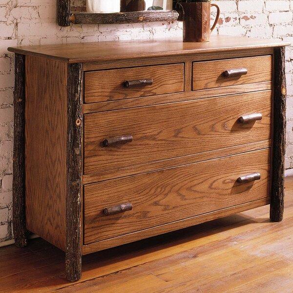 Lottie 4 Drawer Standard Dresser by Rosalind Wheeler