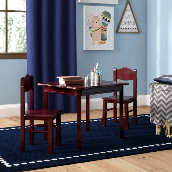 Matilda Kids 3 Piece Writing Table and Chairs Set by Viv + Rae