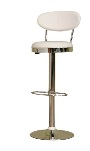 Spicer Adjustable Height Swivel Bar Stool by Ebern Designs