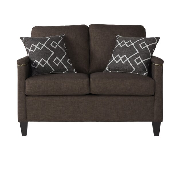 Top Recommend Serta Upholstery Raiford Loveseat by Winston Porter by Winston Porter