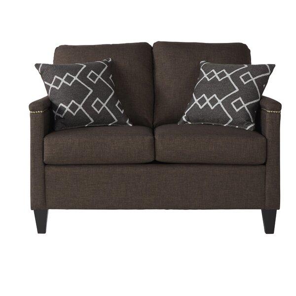 Cool Style Serta Upholstery Raiford Loveseat by Winston Porter by Winston Porter