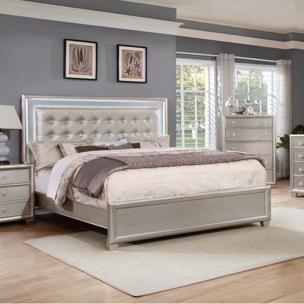 Chumley Upholstered Panel Bed by House of Hampton