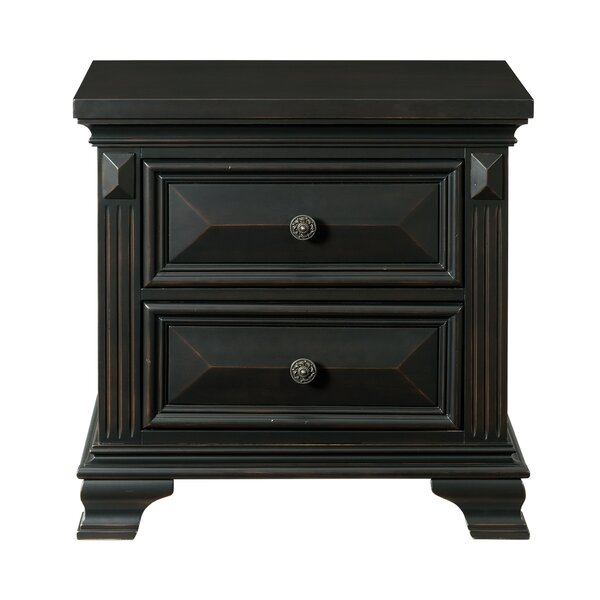 Banwell 2 Drawer Nightstand by Canora Grey