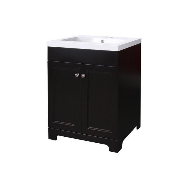 Pamela 24 Single Bathroom Vanity by Charlton HomePamela 24 Single Bathroom Vanity by Charlton Home