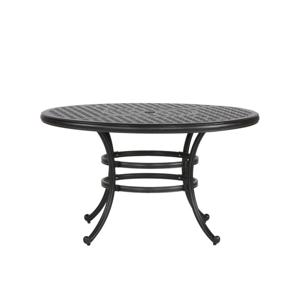 Lehmann Round Dining Table by Three Posts